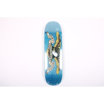 Anti-Hero Eagle Overspray Blue Deck Mean 8.75