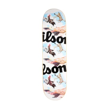 Quasi Wilson Fight Skateboard Deck - 8.25""