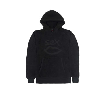 Sex Skateboards Borg Hoodie - Black