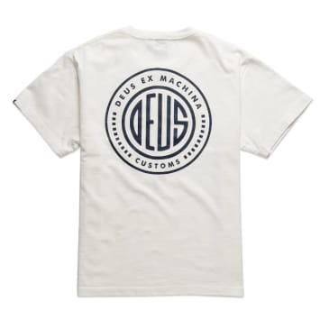 Deus Ex Machina Pill T-Shirt - Vintage White