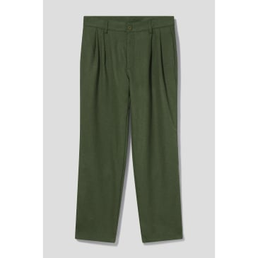 Stan Ray - Double Pleat Chino (Olive Wool)