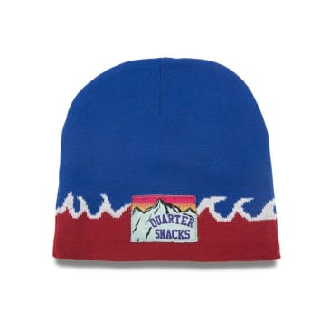 Quartersnacks Flame Beanie - Blue