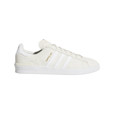 Adidas Campus ADV Skateboarding Shoes - Supplier Colour / FTWR White / Gold Met