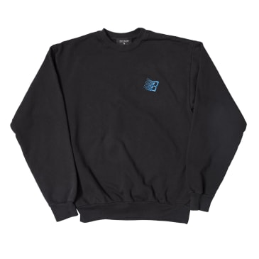 Bronze 56K Embroidered B Logo Crewneck - Off Black
