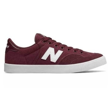 New Balance Numeric 212 (Burgundy/White)