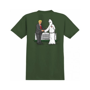 REAL WRENCH JUSTICE TEE - OLIVE