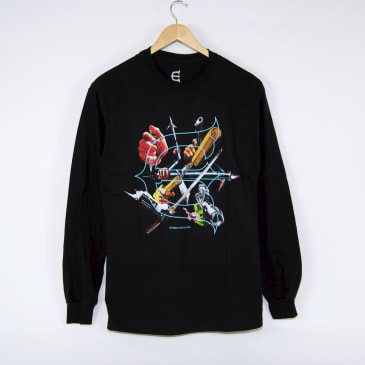 Evisen Skateboards - Seven Arms Longsleeve T-Shirt - Black