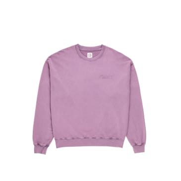 Polar Skate Co Garment Dye Crewneck - Purple