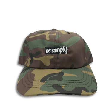 No-Comply Box Logo Dad Hat Camo