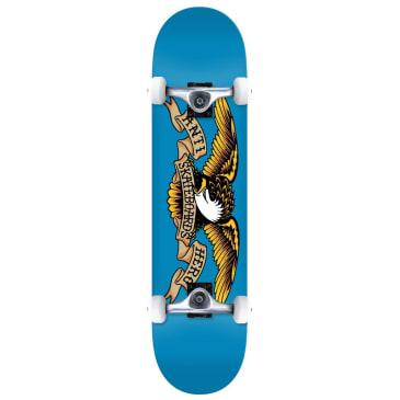 """Antihero Skateboards - Team Eagle Complete Skateboard 7.5"""" Wide"""
