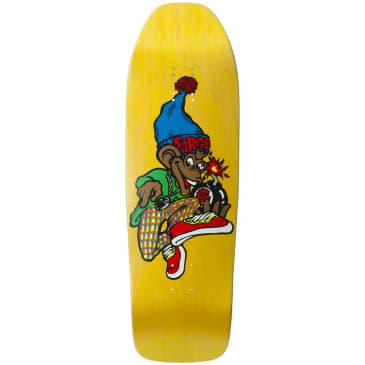 """New Deal Sargent Monkey Bomber SP Deck 9.625"""" Yellow"""