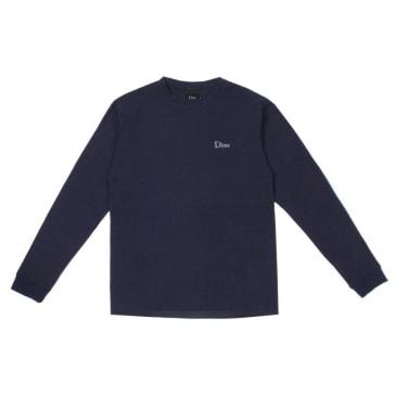 Dime Thermal Long Sleeve Shirt - Navy