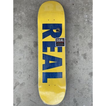 Real Team Bold Series Yellow- 8.06