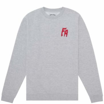 Fucking Awesome FA Embroidered Sweatshirt - Grey