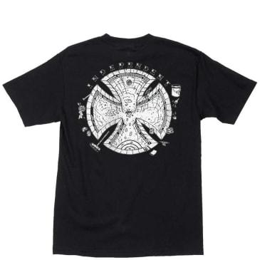 Independent Trucks Pool Scum T-Shirt - Black