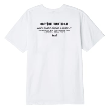 Obey International Chaos & Dissent - White