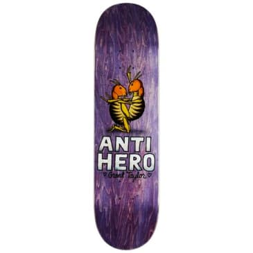 "Antihero Skateboards - Grant Taylor For Lovers Only 2 Deck 8.12"" wide"