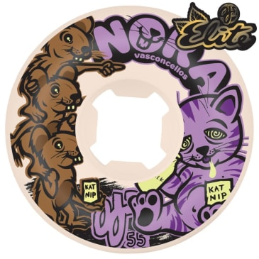 Oj Wheels - OJ Elite Skateboard Wheels Nora Revenge Universals | 55mm