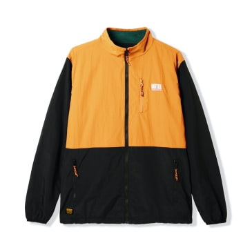 Butter Goods Search Jacket, Black/Peach
