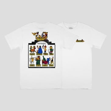 Pass~Port Skateboards - Trickle Down Tee - White