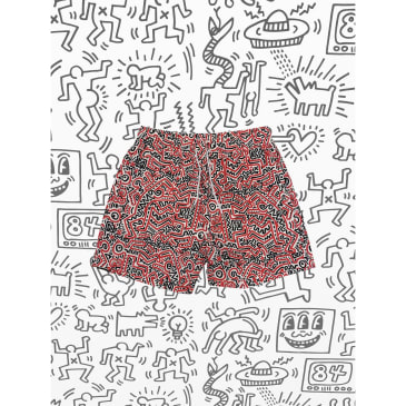 DIAMOND X HARING SHORTS