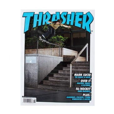 Thrasher Magazine August 2019