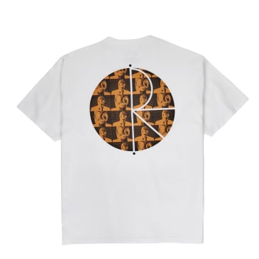 Polar Skate Co Klez Fill Logo T-Shirt - White