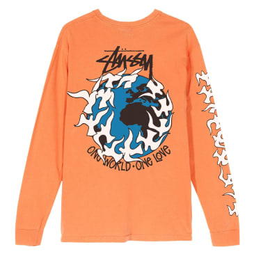 Stussy - One Love Pigment Dyed LS T-Shirt