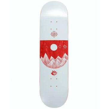 Magenta Mountains Skateboard Deck - 8.6
