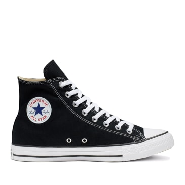 Converse CTAS Hi Shoes - Black / White