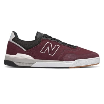 New Balance Numeric 913 Skateboarding Shoe - Burgundy/White