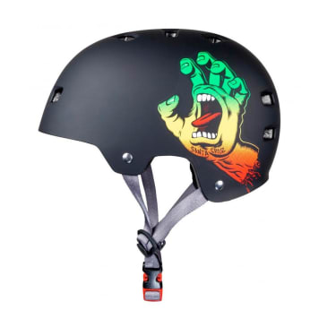 Bullet x Santa Screaming Hand Helmet - Rasta