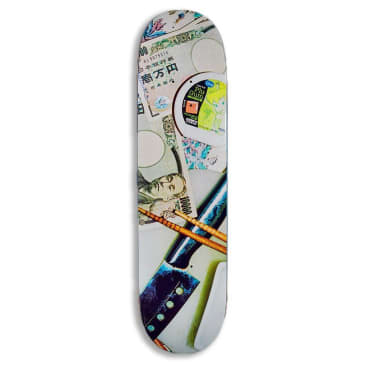 Numbers (Series Two) Silvas Deck 8.3""