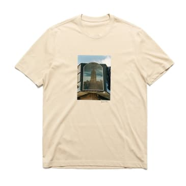 Chrystie NYC Empire State Building Quentin De Briey Photo T-Shirt - Cream