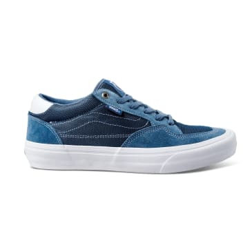 Vans Rowan Pro Skateboarding Shoe - Mirage Blue / White