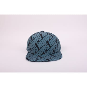 Hopps Hat All Over 5 Panel Black