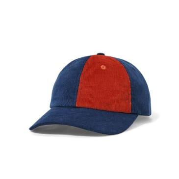 Butter Goods Fractions 6 Panel - Navy / Rust
