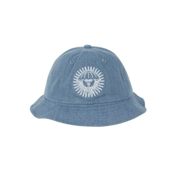 Helas Parasol De Mayo Bucket Hat - Denim