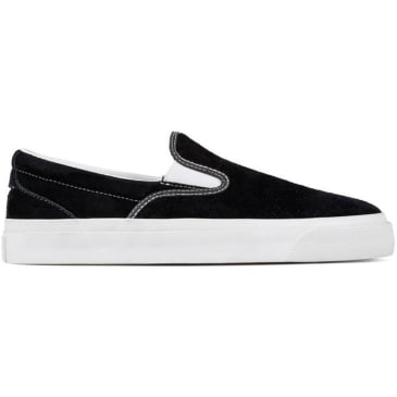 Converse Cons One Star CC Slip On Pro Shoes - Black/White/White