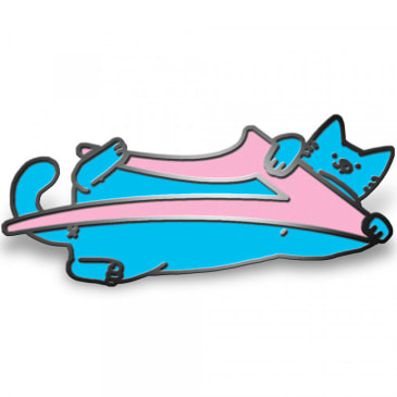 Lakai x Leon Karssen Cat Lapel Pin