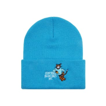 Central Booking Intl. - Courthouse Tiger Beanie - Blue