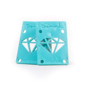 "Diamond Supply Co. Risers 1/8"" - Blue"