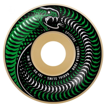 Spitfire Wheels - Formula Four Venomous Radial Slims Wheels 101a 51mm