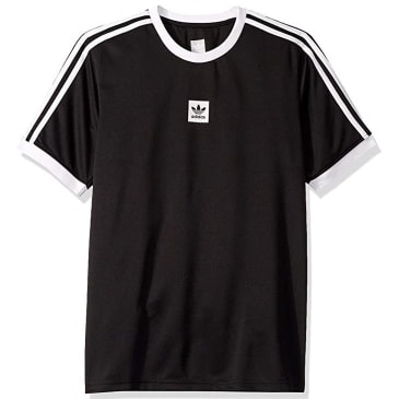 adidas Club Jersey T-Shirt - Black / White