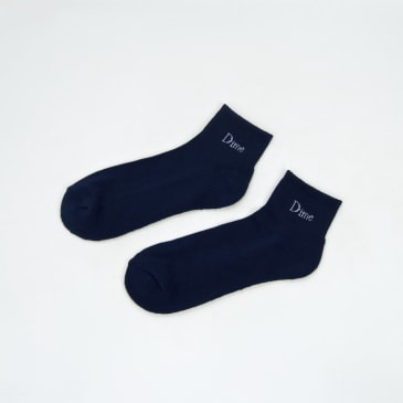 Dime MTL - Logo Ankle Socks - Navy