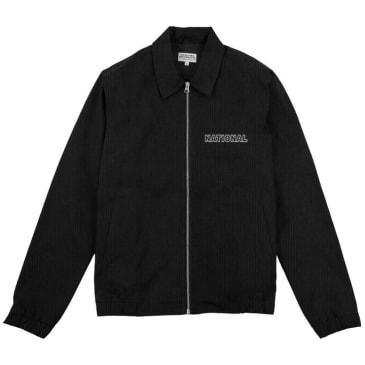The National Skateboard Co. Corduroy Harrington Jacket - Black