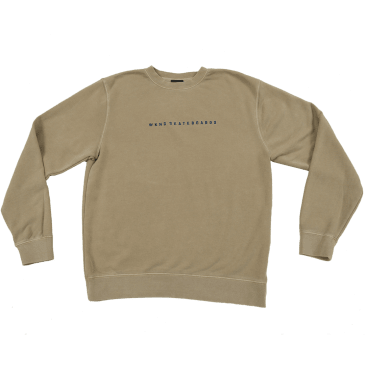 WKND - Skateboards Crew Neck - Sandstone