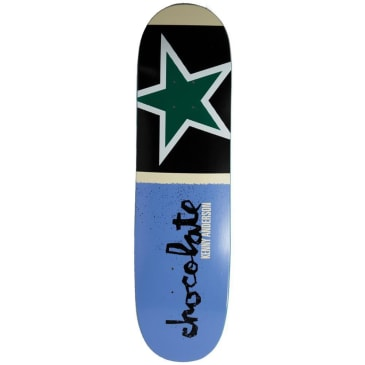 "Chocolate Skateboards - Kenny Anderson Giant Flags Deck 8.5"" Wide"