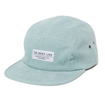 The Quiet Life - Cord 5 Panel Camper Hat - Sky Blue