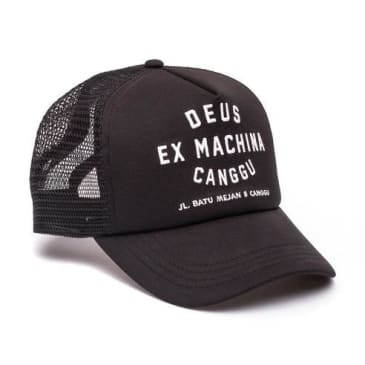 Deus Ex Machina - Deus Ex Machina Canggu Address Trucker Cap | Black